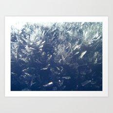 Snow Crystals Art Print