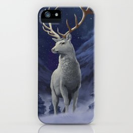 The White Hart iPhone Case