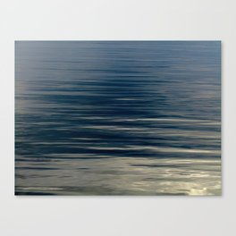 Beautiful Calm Coastal Waters Canvas Print