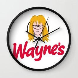 WAYNE'S SINGLE #2 Wall Clock