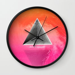 Doors of perception series 1 Wall Clock