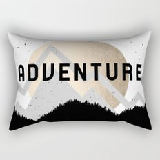 Adventure Golden Sunrise Rectangular Pillow