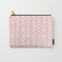 Pink Arrows Pattern Carry-All Pouch