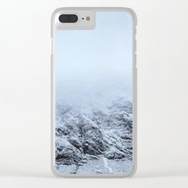 Letting go -  cold comfort in Glencoe Clear iPhone Case