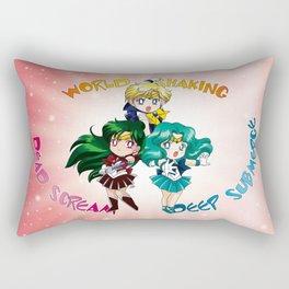 Outer Senshi - Chibi edit. Rectangular Pillow