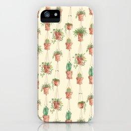 Plant hangers iPhone Case