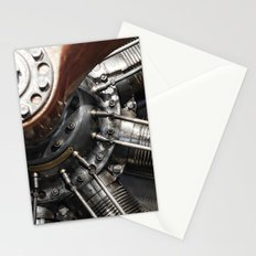 Airplane motor Stationery Cards