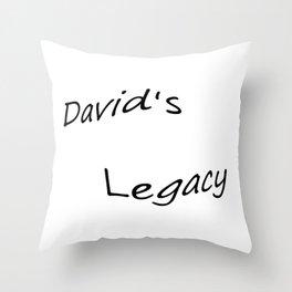 David's Legacy Throw Pillow