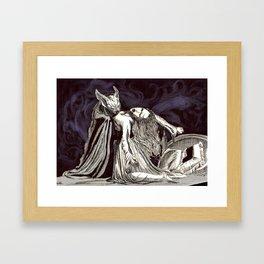 The love of the duchess #society6 Framed Art Print