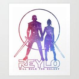 Reylo will rule the galaxy! Art Print