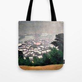 Honfleur In The Mist - Digital Remastered Edition Tote Bag