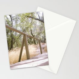 Small Bridge In The Woods Stationery Cards