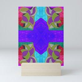 七 (Qī) Mini Art Print