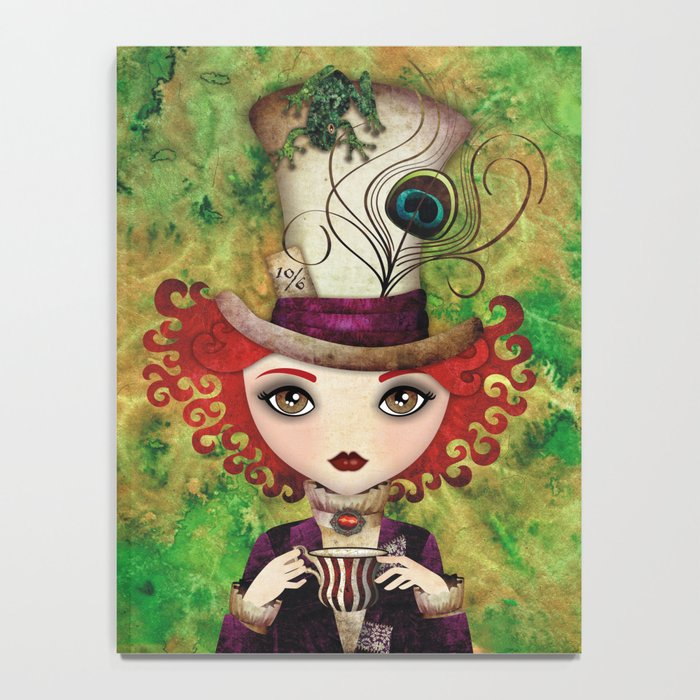 Lady Hatter Notebook