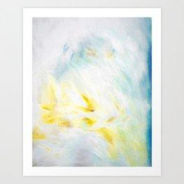 Blanc Art Print