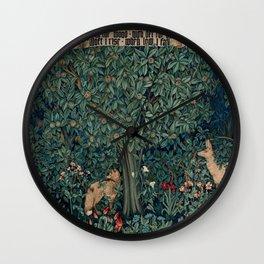 "John Henry Dearle ""Greenery"" 1. Wall Clock"