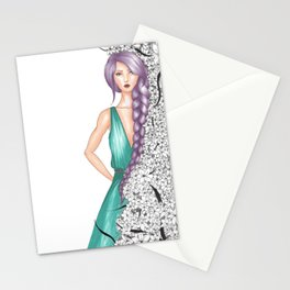 The Lavender Lady Stationery Cards