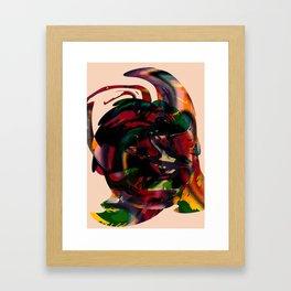 Titan/Horn Framed Art Print
