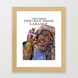 The Man from Laramie Framed Art Print