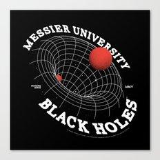 The Sucking Black Holes Canvas Print