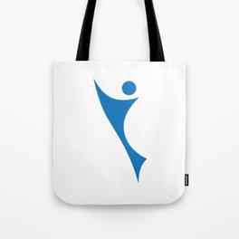 sporty man Tote Bag