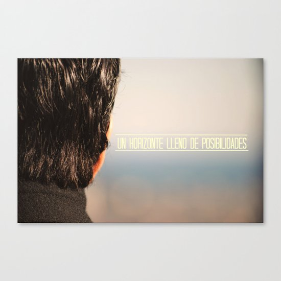 Un horizonte lleno de posibilidades Canvas Print