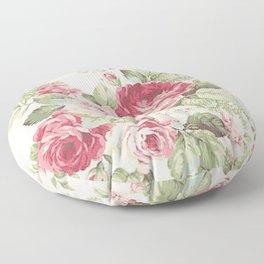 Retro Bloom Floor Pillow