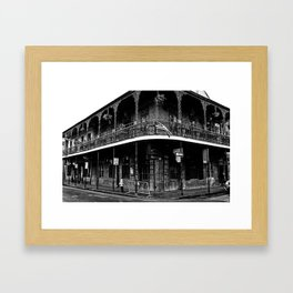 Bourbon Street, New Orleans Framed Art Print