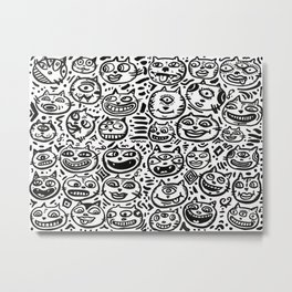 1 Million Cats Metal Print