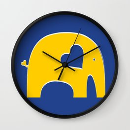 Oski Elephant Wall Clock