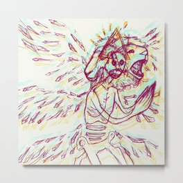 Anya's Angel Metal Print