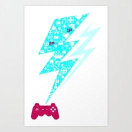 Game On!! Art Print