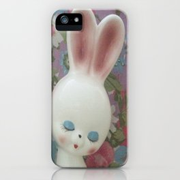 White Hare iPhone Case