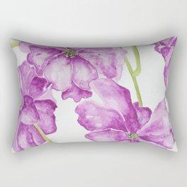 Flower lilac Rectangular Pillow