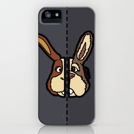 Old & New Peppy Hare iPhone Case