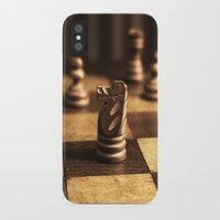 chess iPhone & iPod Cases featuring Chess by Janelle