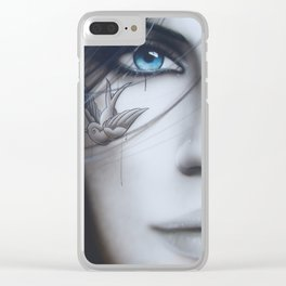 'Deviant' Clear iPhone Case