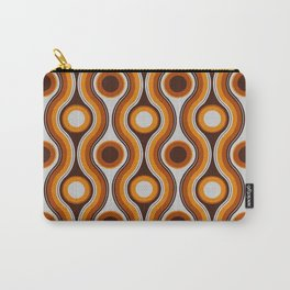 Older Patterns ~ Waves 70s Carry-All Pouch