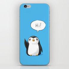 Hi Penguin iPhone Skin