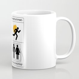A Day In The Life Of A Stuntman Coffee Mug