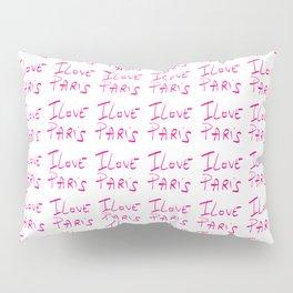 I love Paris Pillow Sham