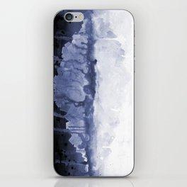 Paint 5 abstract water ocean arctic iceberg nature ocean sea abstract art drip waterfall minimal  iPhone Skin