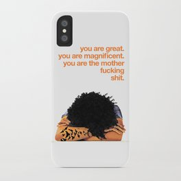 MAGNIFICENT W/ DOG iPhone Case