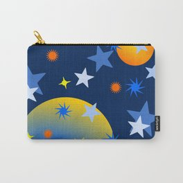 Celestial Stars and Planets Carry-All Pouch