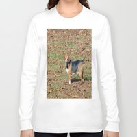beagle Long Sleeve T-shirts featuring Beagle by Frankie Cat