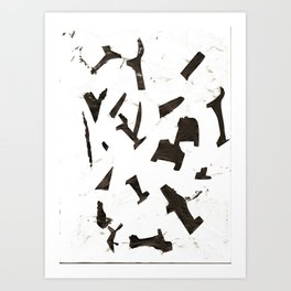 Rock N' Ice Print Art Print