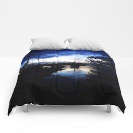 Let your dreams set sail Comforters