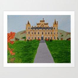 Scotland castle Art Print