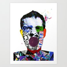 Mr Brandon Flowers, Hey Hot Stuff! Art Print