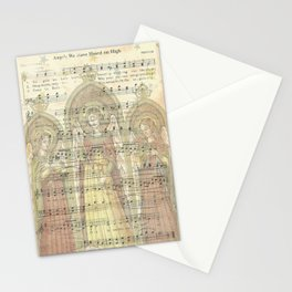 Christmas Card Angels Singing Stationery Cards